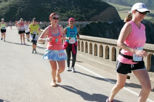 Running the Bixby Bridge was so cool!